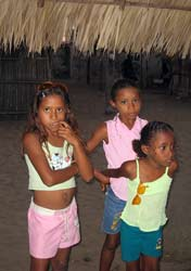 Three Chacahuan girls