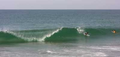 Surf on Mainland Chacahua